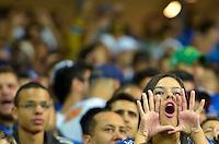 Belo Horizonte, MG, 14.05.2014 - COPA LIBERTADORES - CRUZEIRO X SAN LORENZO - Torcida do Cruzeiro durante partida entre Cruzeiro x San Lorenzo, válida pela Copa Libertadores realizado no Estádio Mineirão nesta quarta, 14. (Foto: Daniel Oliveira / Brazil Photo Press)