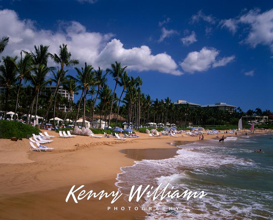 Wailea Beach, Maui, Hawaii, USA.