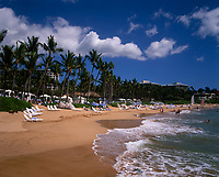 Wailea Beach, Maui, Hawaii, USA.
