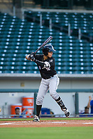 AZL White Sox second baseman Ramon Beltre (6) at bat against the AZL Cubs on August 13, 2017 at Sloan Park in Mesa, Arizona. AZL White Sox defeated the AZL Cubs 7-4. (Zachary Lucy/Four Seam Images)