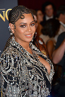 "LOS ANGELES, USA. July 10, 2019: Beyonce Knowles-Carter at the world premiere of Disney's ""The Lion King"" at the Dolby Theatre.<br /> Picture: Paul Smith/Featureflash"