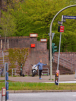 Aula der Gesamtschule Eppendorf erbaut 1926-28 von Fritz Höger, Curschmannstraße / Breitenfelderstraße in Hamburg-Hoheluft-Ost, Deutschland, Europa<br /> Aula of comprehensive school Eppendorf built 1926-28 by Fritz Höger Curschmann St. / Breitenfelder St. in Hamburg-Hoheluft-Ost, Germany, Europe