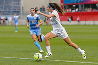 Chicago, IL - Saturday July 30, 2016: Erika Tymrak during a regular season National Women's Soccer League (NWSL) match between the Chicago Red Stars and FC Kansas City at Toyota Park.