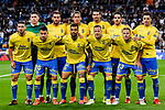 UD Las Palmas squad poses for photos during the La Liga 2017-18 match between Real Madrid and UD Las Palmas at Estadio Santiago Bernabeu on November 05 2017 in Madrid, Spain. Photo by Diego Gonzalez / Power Sport Images