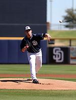 Ryan Weathers - San Diego Padres 2019 spring training (Bill Mitchell)