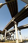 Expressway interchange, Portland, Oregon