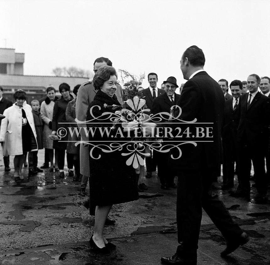 Royal Antwerp Aviation Club.  December 1968.  Luchthaven Deurne.