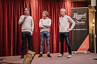 Roompot–Charles Cycling Team sports directors: Erik Breukink,  Michael Boogerd &  Jean-Paul van Poppel<br /> <br /> <br /> Team presentation <br /> The Netherlands / nov 2018