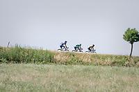 the leaders trio<br /> <br /> 70th Halle Ingooigem 2017 (1.1)<br /> 1 Day Race: Halle > Ingooigem (201km)
