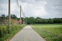 Manshoven cobbled road <br /> <br /> Limburg cycling hotspots<br /> Cycling In Flanders <br /> Flanders Tourist Board<br /> <br /> ©kramon