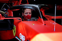 12th November 2020; Istanbul Park, Istanbul, Turkey;  FIA Formula One World Championship 2020, Grand Prix of Turkey, 5 Sebastian Vettel GER, Scuderia Ferrari Mission Winnow