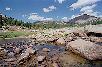 Stream through mountains<br />