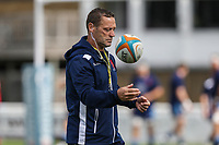 Graham Steadman of London Scottish during the Greene King IPA Championship match between London Scottish Football Club and Ealing Trailfinders at Richmond Athletic Ground, Richmond, United Kingdom on 8 September 2018. Photo by David Horn.