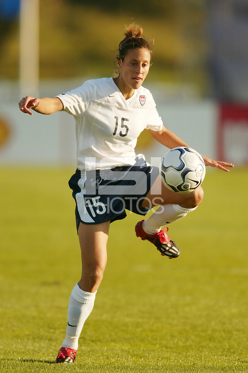 Kate Sobrero had an assist as the USWNT defeated Russia 5-1  on  September 29, at Mitchel Athletic Complex, Uniondale, NY.