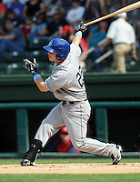 Outfielder Corey Dickerson (23) of the Asheville Tourists, Class A affiliate of the Colorado Rockies, in a game against the Greenville Drive on May 1, 2011, at Fluor Field at the West End in Greenville, S.C. Photo by Tom Priddy / Four Seam Images