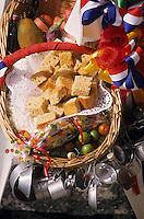 Europe/France/DOM/Antilles/Petites Antilles/Guadeloupe/Pointe-à-Pitre : Fête des cuisinières - Paniers des cuisinières