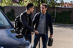 Spainsh Marc Bartra and Nacho Monrreal arriving at the concentration of the spanish national football team in the city of football of Las Rozas in Madrid, Spain. November 08, 2016. (ALTERPHOTOS/Rodrigo Jimenez)