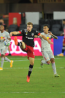 WASHINGTON, DC - SEPTEMBER 12: Julian Gressel #31 of D.C. United plays the ball during a game between New York Red Bulls and D.C. United at Audi Field on September 12, 2020 in Washington, DC.