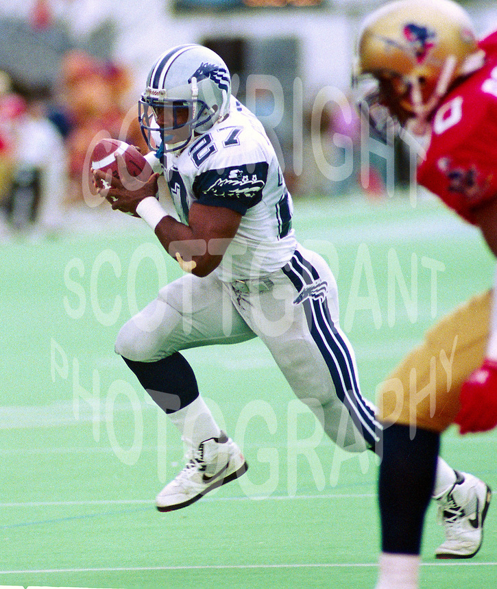 Mike Pringle Baltimore Stallions 1994. Photo John Bradley
