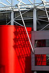 Architectural details of The Riverside stadium Middlesbrough. 16th January 2021, Middlesbrough 0 Birmingham 1.