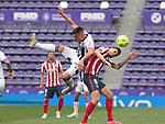 Real Valladolid's Fede San Emeterio (l) and Atletico de Madrid's Saul Niguez during La Liga match. May 22,2021. (ALTERPHOTOS/Alberto Simon)