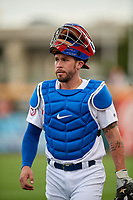 Buffalo Bisons catcher Beau Taylor (37) before an International League game against the Rochester Red Wings on August 26, 2019 at Sahlen Field in Buffalo, New York.  Buffalo defeated Rochester 5-4.  (Mike Janes/Four Seam Images)