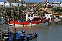 Europe/France/Pays de la Loire/85/Vendée/Env de Bouin/Epoids: Le port du Bec