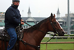 LOUISVILLE, KY - APRIL 23: William I. Mott, trainer of this year's Kentucky Oaks contender Carina Mia. (Photo by Mary M. Meek/Eclipse Sportswire/Getty Images)