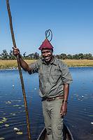 Okavango Delta_mokoro canoe