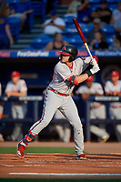 Florida Fire Frogs Greyson Jenista (30) during a Florida State League game against the St. Lucie Mets on April 12, 2019 at First Data Field in St. Lucie, Florida.  Florida defeated St. Lucie 10-7.  (Mike Janes/Four Seam Images)