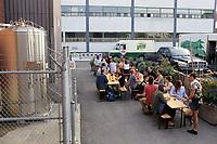 La Brasserie BVM (Bar Alexandraplatz) dans Le quartier Mile-ex sur Montreal, Canada.<br /> <br /> <br /> Photo : Pierre Roussel - Agence Quebec Presse