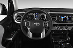 Car pictures of steering wheel view of a 2016 Toyota Tacoma SR5 4 Door Pickup Steering Wheel