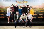 "Macarena Garcia, Belen Cuesta, the director of the film Nacho Garcia Velilla, Carmen Machi, Leo Harlem, Carmen Ruiz, Julieta Serrano, Arturo Valls, Bore Buika and Antonio Pagudo attends to the presentation of the spanish film "" Villaviciosa de al lado"" in Madrid, Spain. November 29, 2016. (ALTERPHOTOS/BorjaB.Hojas)"