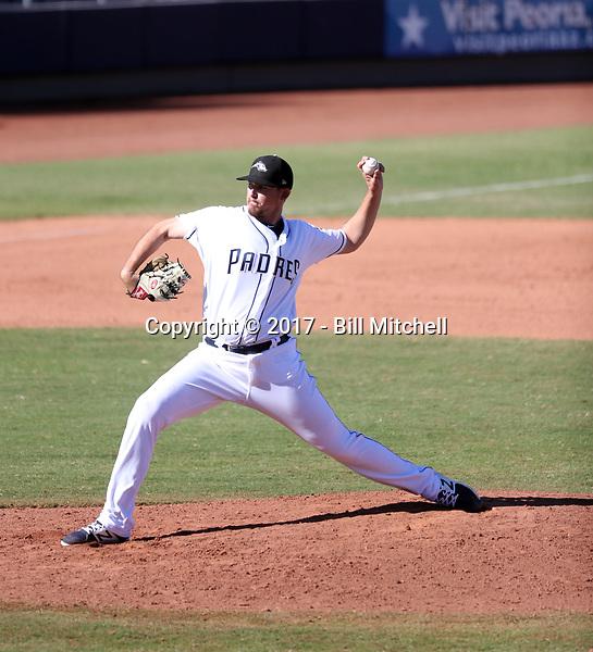 Jerry Keel - Peoria Javelinas - 2017 Arizona Fall League (Bill Mitchell)