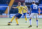 Kilmarnock v St Johnstone……15.08.20   Rugby Park  SPFL<br />Liam Craig<br />Picture by Graeme Hart.<br />Copyright Perthshire Picture Agency<br />Tel: 01738 623350  Mobile: 07990 594431