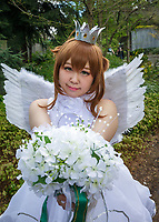 Beautiful Asian Angel, Sakura Con 2017, Seattle, Washington, USA.