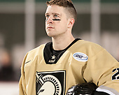 Conor Andrle (Army - 20) - The Bentley University Falcons defeated the Army West Point Black Knights 3-1 (EN) on Thursday, January 5, 2017, at Fenway Park in Boston, Massachusetts.The Bentley University Falcons defeated the Army West Point Black Knights 3-1 (EN) on Thursday, January 5, 2017, at Fenway Park in Boston, Massachusetts.
