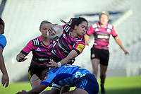 Chiefs' Kennedy Simon in action during the Super Rugby Women match between the Blues and Chiefs at Eden Park in Auckland, New Zealand on Saturday, 1 May 2021. Photo: Dave Lintott / lintottphoto.co.nz