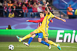 Cesar Navas of FC Rostov competes for the ball with Fernando Torres of Atletico de Madrid during their 2016-17 UEFA Champions League match between Atletico Madrid and FC Rostov at the Vicente Calderon Stadium on 01 November 2016 in Madrid, Spain. Photo by Diego Gonzalez Souto / Power Sport Images