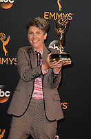 LOS ANGELES - SEP 18:  Jill Soloway at the 2016 Primetime Emmy Awards - Press Room at the Microsoft Theater on September 18, 2016 in Los Angeles, CA