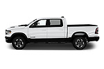 Car Driver side profile view of a 2020 Ram RAM-1500 Rebel 4 Door Pick-up Side View