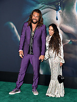"LOS ANGELES, USA. September 29, 2019: Jason Momoa & Lisa Bonet at the premiere of ""Joker"" at the TCL Chinese Theatre, Hollywood.<br /> Picture: Paul Smith/Featureflash"