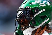 10th October 2021; Tottenham Hotspur stadium, London, England; NFL UK Series, Atlanta Falcons versus New York Jets: New York Jets linebacker C. J. Mosley (57)