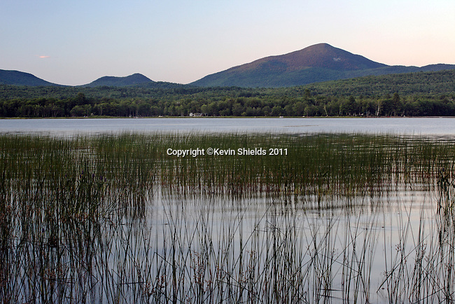 Mt. Blue and Webb Lake, Mt. Blue State Park, Weld, Maine, USA