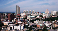 Downtown Albany , New York.