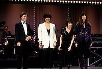 Du Gramophone au Laser, circa 1985 : <br /> Jean-Pierre Ferland,, marie-claire seguin, Louise Portal , Nanette workman