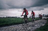 Lars Bak (DEN/Lotto-Soudal)<br /> <br /> parcours recon of the 116th Paris-Roubaix 2018, 3 days prior to the race