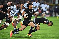 17th July 2021; Hamilton, New Zealand;  Richie Mo'unga. All Blacks versus Fiji, Steinlager Series, international rugby union test match. FMG Stadium Waikato, Hamilton, New Zealand.