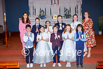 Kilgobnet NS pupils who received their First Holy Communion in St Marys church Beaufort on Saturday