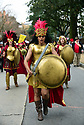 Krewe of Amazons, cancer survivors, Inaugural Lundi Gras Parade, New Orleans.